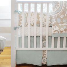 Found it at Wayfair - Picket Fence 4 Piece Crib Bedding Set