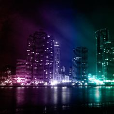 Colorful city wallpapers backgrounds