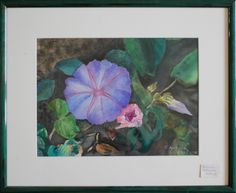 artist Georgette Archane-Gebel Year 1998 Watercolour painting on paper cm Comes with frame cm) Art, Painting