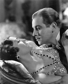 Gloria Swanson (costumes by Coco Chanel) & Melvyn Douglas in Tonight or Never (1931)