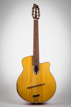 Instruments for Sale — Beardsell Guitar Workshop Gypsy Jazz Guitar, Cool Guitar, Archtop Guitar, Acoustic Guitars, Guitar Rack, Cigar Box Guitar, Beautiful Guitars, Guitar Design, Custom Guitars