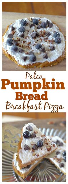 Pumpkin Bread Breakfast Pizza