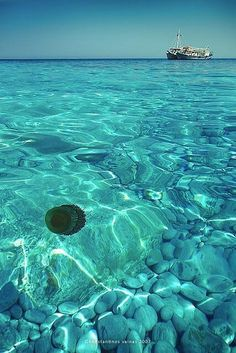 Twitter / Earth_Pics: Lalaria beach, Skiathos, Greece