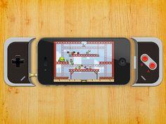 iPhone gaming controller