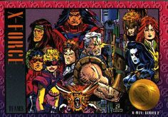 X-Force trading card #xforce #tradingcards