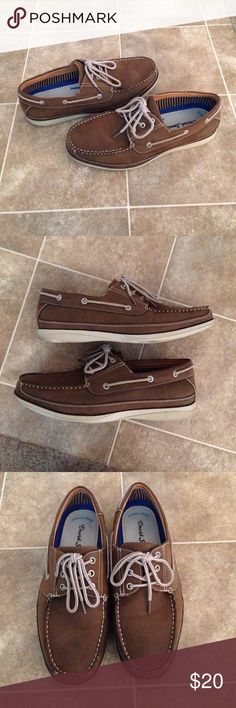 Men's Brown Boat Shoes Men's Brown Boat Shoes. Memory foam. Comfort footbed. David Stone Shoes Boat Shoes