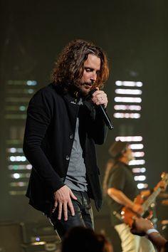 Chris Cornell❤—Soundgarden at The Fox Theatre in Detroit on 5-17-17. Photo credit: Ken Settle