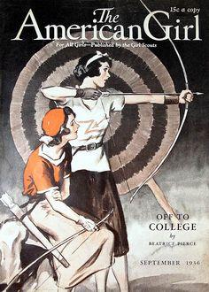 AmericanGirl cover, Sept. 1936