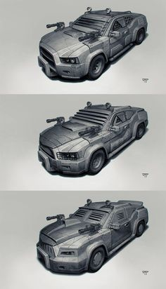 Postapo cars - Sedan by hunterkiller - Pintherest Death Race, Weapon Concept Art, Futuristic Cars, Expensive Cars, Armored Vehicles, Amazing Cars, Tactical Gear, Courses, Zombies