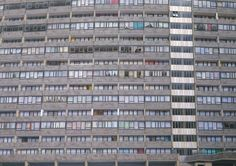 David Hepher: the landscape artist obsessed with London's tower blocks – in pictures Great Fire Of London, The Great Fire, Westminster Bridge, Tower Block, Space Architecture, Built Environment, Brutalist, Urban Photography, Urban Landscape