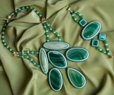 Beautiful beaded jewelry by Galina Bursuk | Beads Magic