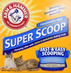 Arm and Hammer Super Scoop Clumping Litter, Unscented >>> Check out the image by visiting the link.
