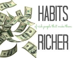Everyone want to get rich but very few are successful in making the kind of money they want. Here are 17 habits of rich people that make them richer!!