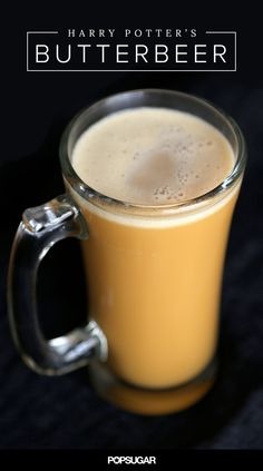 While there are lots of Butterbeer renditions out there — mostly consisting of heavy cream, spices, and butterscotch soda — this one contains actual butterscotch and beer. It has natural buttery flavor and a rich, hefty body perfect to keep you warm on a chilly Fall evening.