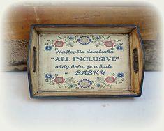 agir / Tácka Tray, Handmade, Vintage, Decor, Hand Made, Decoration, Trays, Vintage Comics, Decorating