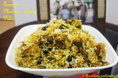 FLAVOURS UNLIMITED...adding flavours to your Lives: Iranian Mutton Berry Pulao