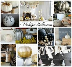 Vintage Halloween Decor | So Much Better With Age