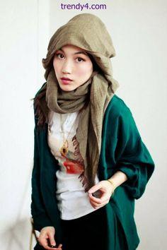 Pretty Indonesian Hijab Fashions 2014