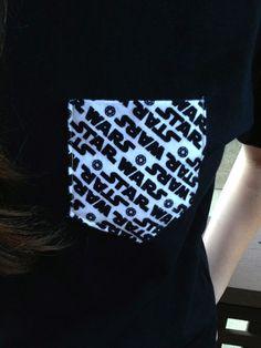 B Star Wars Pocket Punt T-Shirt