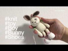 Little Cotton Rabbits, Amigurumi Tutorial, Knitting Videos, Knitted Dolls, Knit Crochet, Bunny, Teddy Bear, Toys, Pattern
