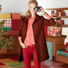 FOSSIL® Clothing Jackets & Outerwear:Women Anna Coat WC5237