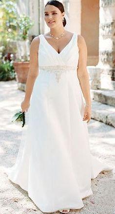 79edab4ae99 Gorgeous dress for the full figured bride Full Figure Wedding Dress