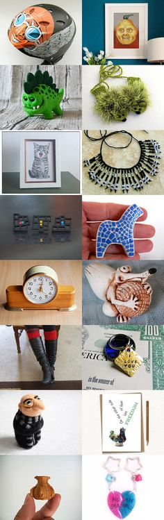 Interesting GIFTS by Vilma Matuleviciene on Etsy--Pinned with TreasuryPin.com