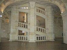 Escalier —chateau de chambrond
