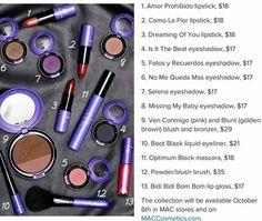 Mac ● Selena Collection October 6th #makeup #mac #macselena #mua