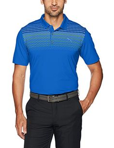 67503365eed4 Puma Golf 2017 Men s Sportstyle Road Map Polo dryCELL technology UV  protection Stretch fabrics Moisture wicking Performance fit