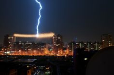 Just a lightning by PhotoDiod via Flickr This photography is very mysterious, the author does not specify where and when it was taken. We just know it is somewhere in Russia.