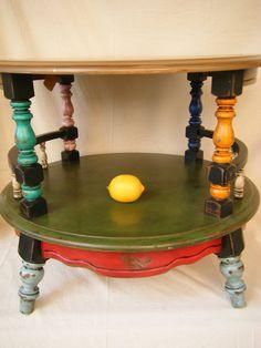 C'mon, u love these, too.  Gypsy Caravan Side Table by lemonadestore on Etsy, $250.00