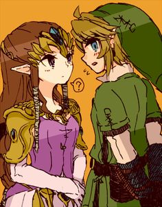 Link and Zelda, lurve these two