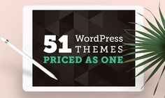 Get 51 WordPress Themes for the Price of One [Part 1]