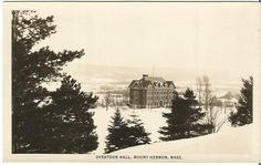 Overtoun Hall Mount Hermon Massachusetts by postcardsintheattic #ButterflysPin