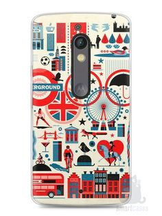 Capa Capinha Moto X Play Londres #4