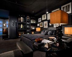 「黒っぽい部屋 DIY」の画像検索結果