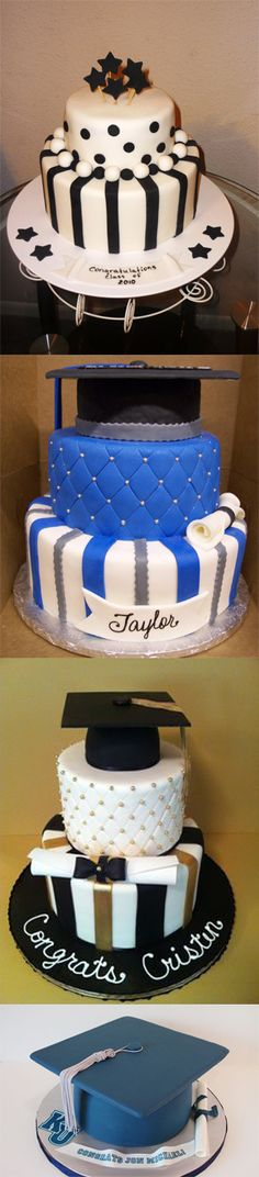 Different graduation cake designs that will surely make the graduates delighted!