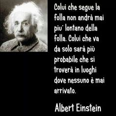 . Quotes Thoughts, Wise Quotes, Very Inspirational Quotes, Italian Quotes, Feelings Words, E Mc2, Einstein Quotes, Psychology Facts, Deep Words