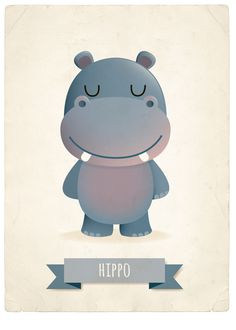 Henry the happy hippo