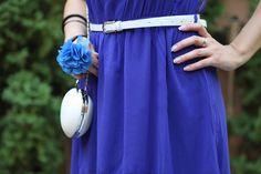Love it! #Venoma #Milica #Nedeljkovic #Dress #Blue #White