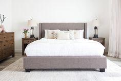 Damon II California King Upholstered Platform Bed W/Storage - 360