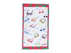 61972077d02e White Sunglasses Beach Towel Accented With Suns - Awesome Beach Towels  Beach Sunglasses, White Sunglasses