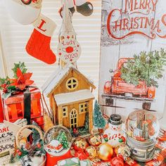 """Old Time Pottery on Instagram: """"HO-HO-HOP ON THESE SAVINGS BEFORE THEY FLY AWAY! Christmas is now 75% off and it is going fast. Stock up on your favorite Christmas…"""" Large Christmas Tree, Christmas Wreaths To Make, Beautiful Christmas Trees, Christmas Holidays, Christmas Ornaments, Gingerbread Decorations, Christmas Gingerbread, Outdoor Christmas Decorations, Old Time Pottery"""