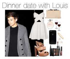 """Date with Lou"" by fakeverahoran ❤ liked on Polyvore"
