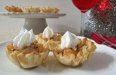 Pear and Cream Cheese Fillo Cups | Phyllo.com