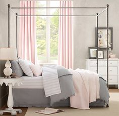 Colors I am planning for my new bedroom :) Either pink or yellow with the gray