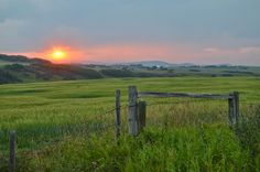 Alberta prarie – via: Out of the mending basket