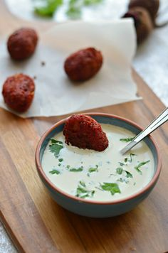 Vegan beetroot koftas are soft, melt in mouth bites. Perfect w/ Indian chai | The Veggie Indian