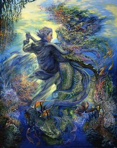 For the Love of a Mermaid - Josephine Wall